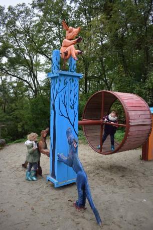 parco giochi a Skanzen