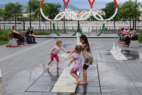 Olimpia park Budapest